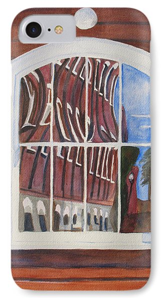 The Mill House Reflects Upon Itself Phone Case by Jenny Armitage