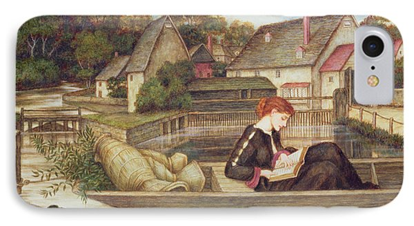 The Mill IPhone Case by John Roddam Spencer Stanhope