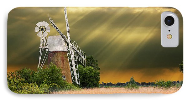 The Mill On The Marsh Phone Case by Meirion Matthias