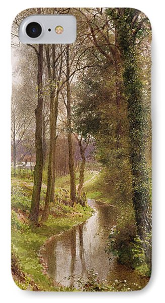 The Mill Stream Phone Case by Henry Sutton Palmer