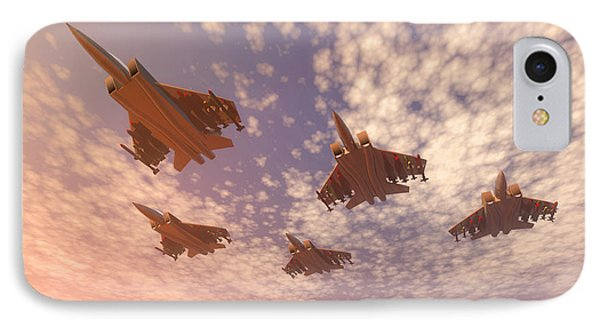 The Missing Man Formation. IPhone Case by Carol and Mike Werner