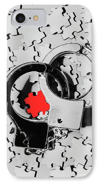 Punishment iPhone 7 Case - The Missing Puzzle Piece by Jorgo Photography - Wall Art Gallery