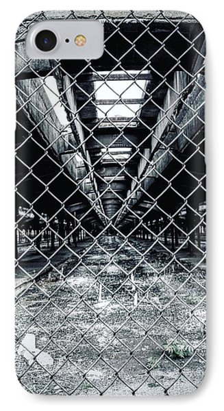 IPhone Case featuring the photograph The Missing Train by Michael Albright