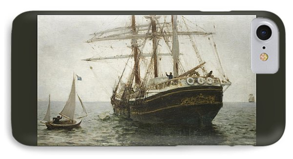 The Missionary Boat Painting By Henry Scott Tuke