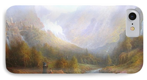 The Misty Mountains IPhone Case by Joe  Gilronan