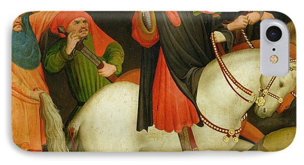 The Mocking Of Saint Thomas IPhone Case by Master Francke