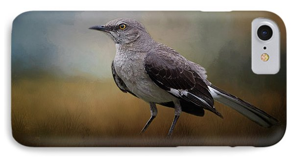 IPhone Case featuring the photograph The Mockingbird A Bird Of Many Songs by David and Carol Kelly