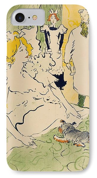 The Modern Worker IPhone Case by Henri de Toulouse-Lautrec
