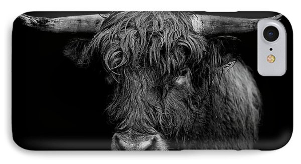 Bull iPhone 7 Case - The Monarch by Paul Neville