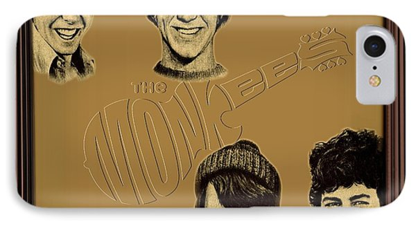 The Monkees  IPhone Case by Movie Poster Prints