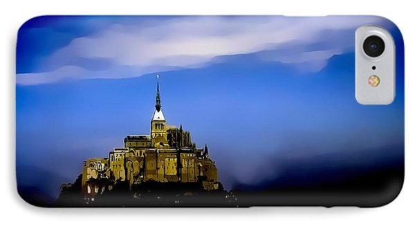 The Mont Saint Michel - France IPhone Case by Maciek Froncisz