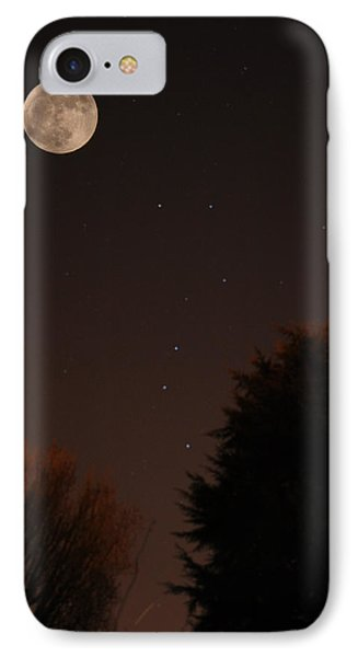 The Moon And Ursa Major IPhone Case