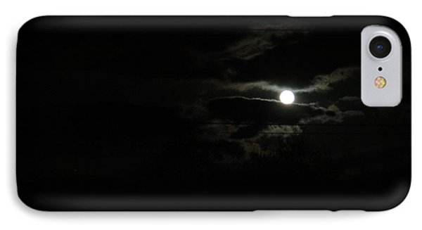 The Moon In Between IPhone Case by Marie Neder