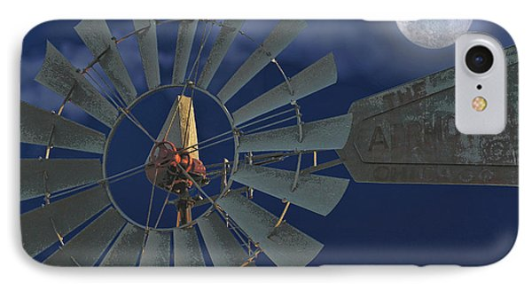 The Moon Spinner Phone Case by Wendy J St Christopher