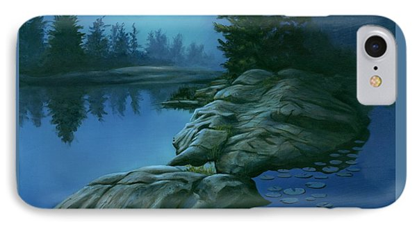 The Moonlight Hour IPhone Case by Michael Swanson