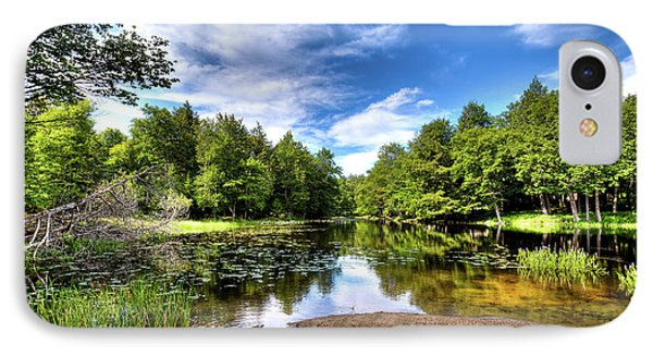 IPhone Case featuring the photograph The Moose River At Covewood by David Patterson