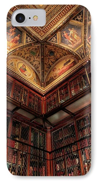 IPhone 7 Case featuring the photograph The Morgan Library Corner by Jessica Jenney