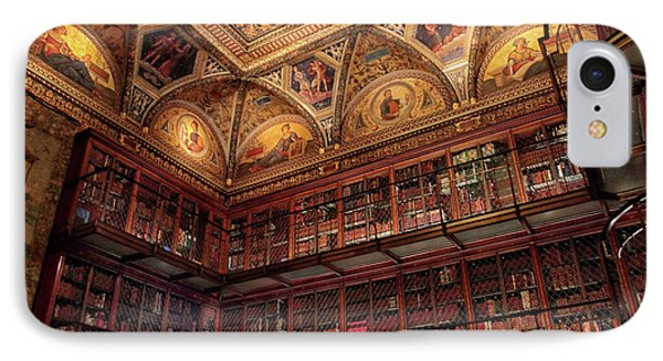IPhone 7 Case featuring the photograph The Morgan Library by Jessica Jenney