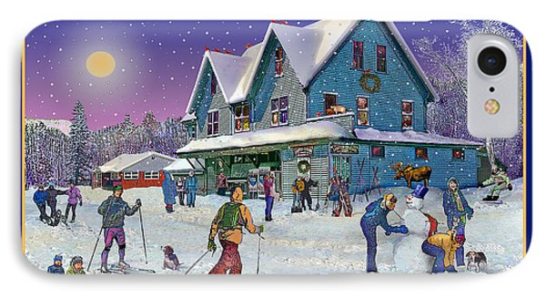 The Morning After At Campton New Hampshire Phone Case by Nancy Griswold