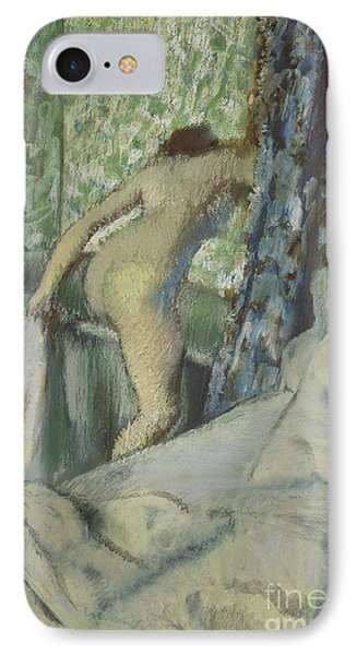 The Morning Bath IPhone Case by Edgar Degas