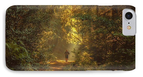 The Morning Jog IPhone Case