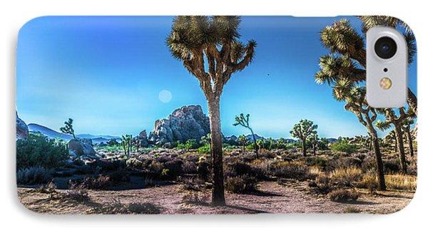 The Morning Joshua Tree  IPhone Case by Timothy Kleszczewski