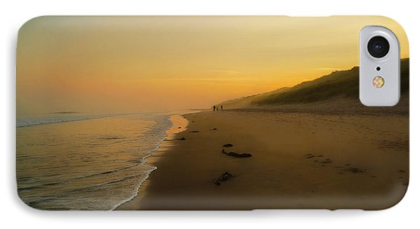 The Morning Walk IPhone Case by Roy McPeak