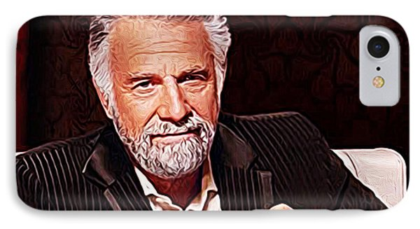 The Most Interesting Man In The World IPhone Case by Iguanna Espinosa