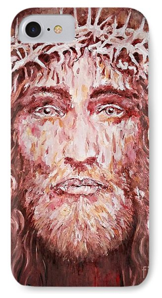 The Most Loved Jesus Christ IPhone Case by AmaS Art
