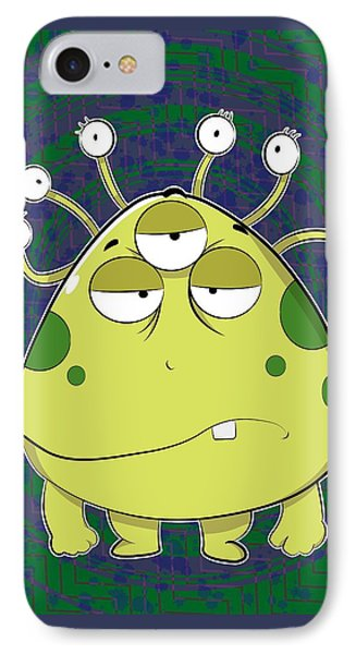 The Most Ugly Alien Ever IPhone Case by Catifornia Shop
