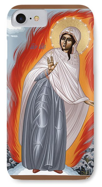 IPhone Case featuring the painting The Mother Of God Of Medjugorgie 084 by William Hart McNichols