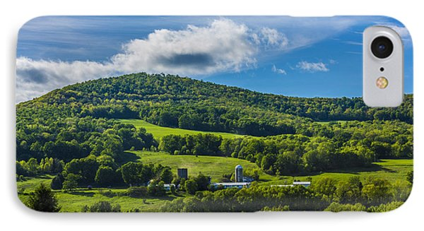 IPhone Case featuring the photograph The Mountain And Sky Landscape by Paula Porterfield-Izzo