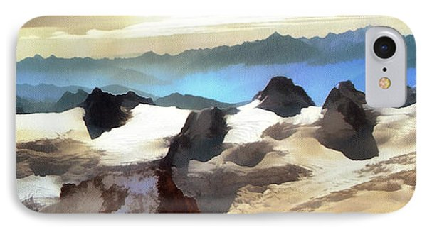 The Mountain Paint IPhone Case