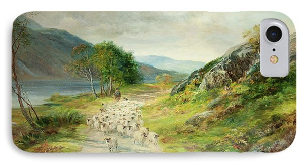 The Mountains Of Moidart IPhone Case by John MacWhirter