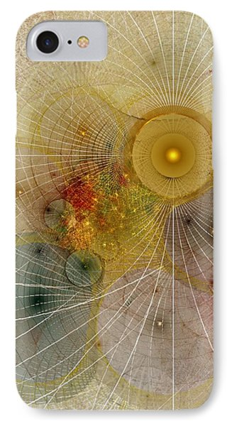 The Mourning Of Persephone - Fractal Art IPhone Case