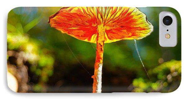 The Mushroom 10 - Pa IPhone Case by Leonardo Digenio
