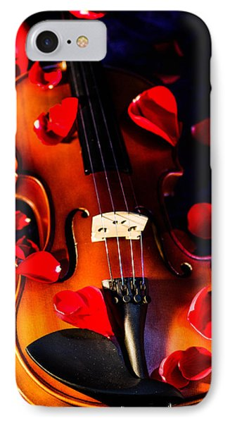 The Musical Rose Petals IPhone Case