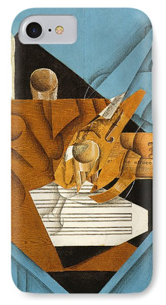 The Musician's Table IPhone Case by Juan Gris