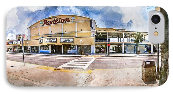 The Myrtle Beach Pavilion - Watercolor IPhone Case