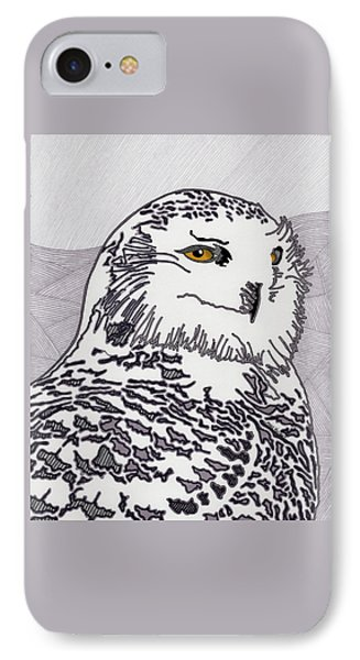 The Mysterious Snowy IPhone Case by Molly Williams