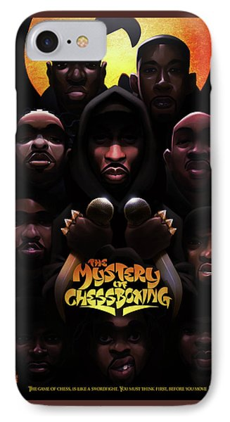 IPhone Case featuring the digital art The Mystery Of Chessboxing by Nelson dedosGarcia