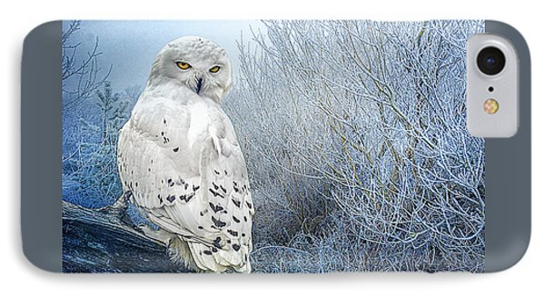 The Mystical Snowy Owl IPhone Case by Brian Tarr
