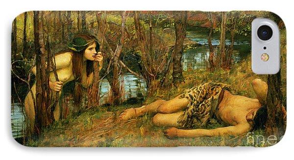 The Naiad Phone Case by John William Waterhouse