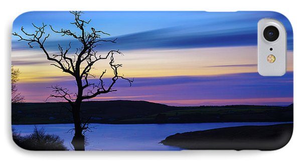 IPhone Case featuring the photograph The Naked Tree At Sunrise by Semmick Photo