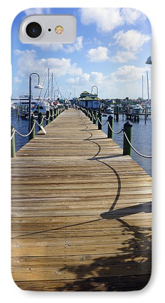 The Naples City Dock IPhone Case