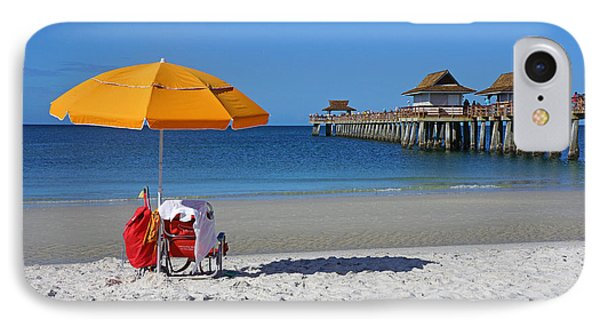 The Naples Pier IPhone Case