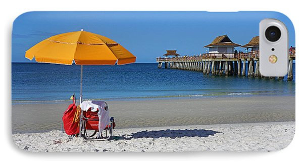 The Naples Pier IPhone Case by Robb Stan