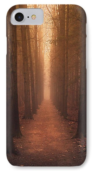 The Narrow Path IPhone Case by Rob Blair