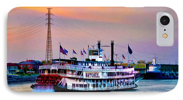 The Natchez On The Mississippi IPhone Case