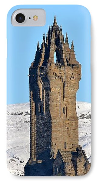 IPhone Case featuring the photograph The National Wallace Monument by RKAB Works